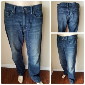 Banana Republic Dark Wash Straight Leg Jeans